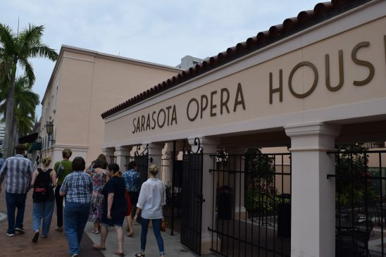 The Sarasota Opera's mentorship program provided multiple New College students with all-expense paid seasonal tickets.