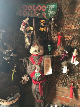Voodoo dolls were traditionally intended for good, not evil.