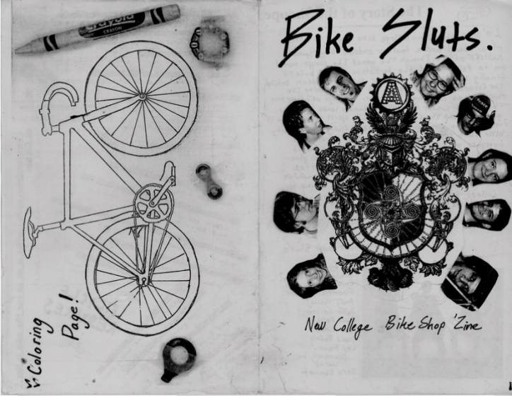 Zines, alums and students tell of Bike Shoppe's past and present