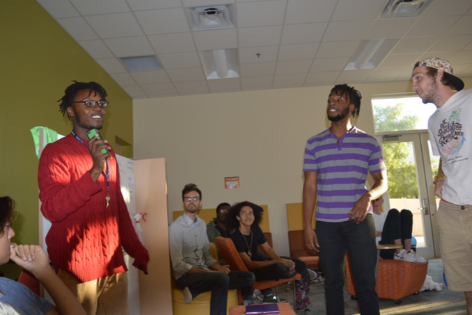 Students battle for a grade: Freestyle and Floetry tutorial hosts midterm