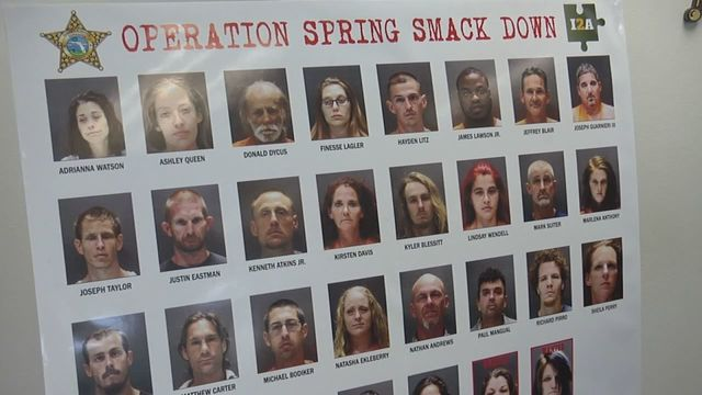 Operation Spring Smackdown responds to opioid crisis