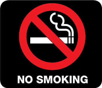 NCSA 'puts out' confusion with new map of tobacco free zones on campus