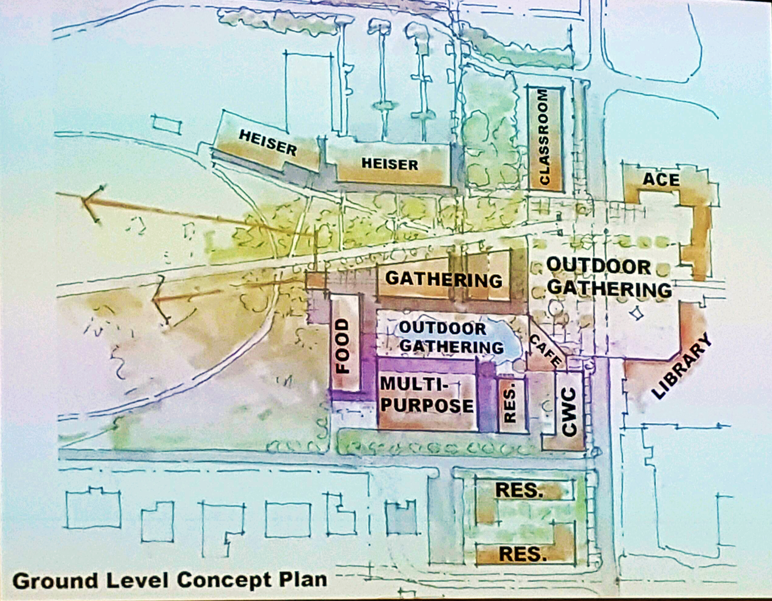 Growth Planning Charrette designs future of New College
