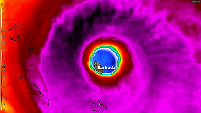 Hurricanes in the Gulf Region: Antigua and Barbuda