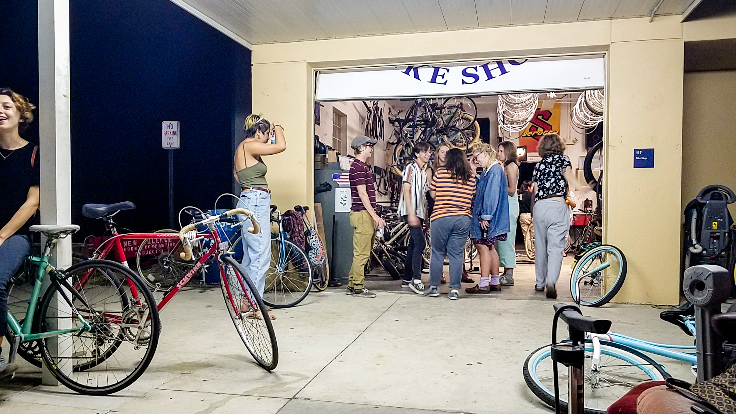 Bike shoppe or boys club? Campus cyclists address inclusivity