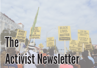The Activist Newsletter (11/8 – 11/16)
