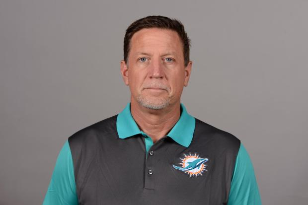 Miami Dolphins offensive line coach caught snorting white substance, resigns