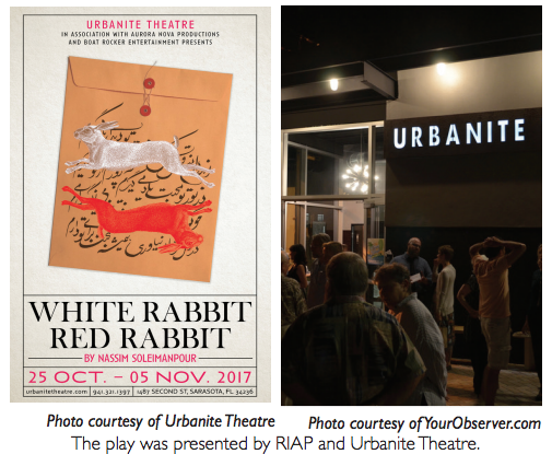 White Rabbit Red Rabbit: or ostrich impressions and metafiction