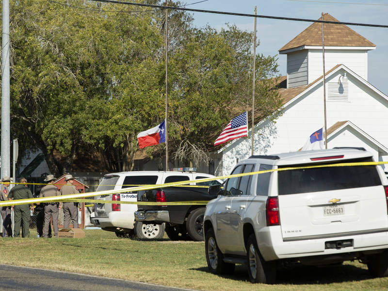 26 reported dead in Texas church shooting