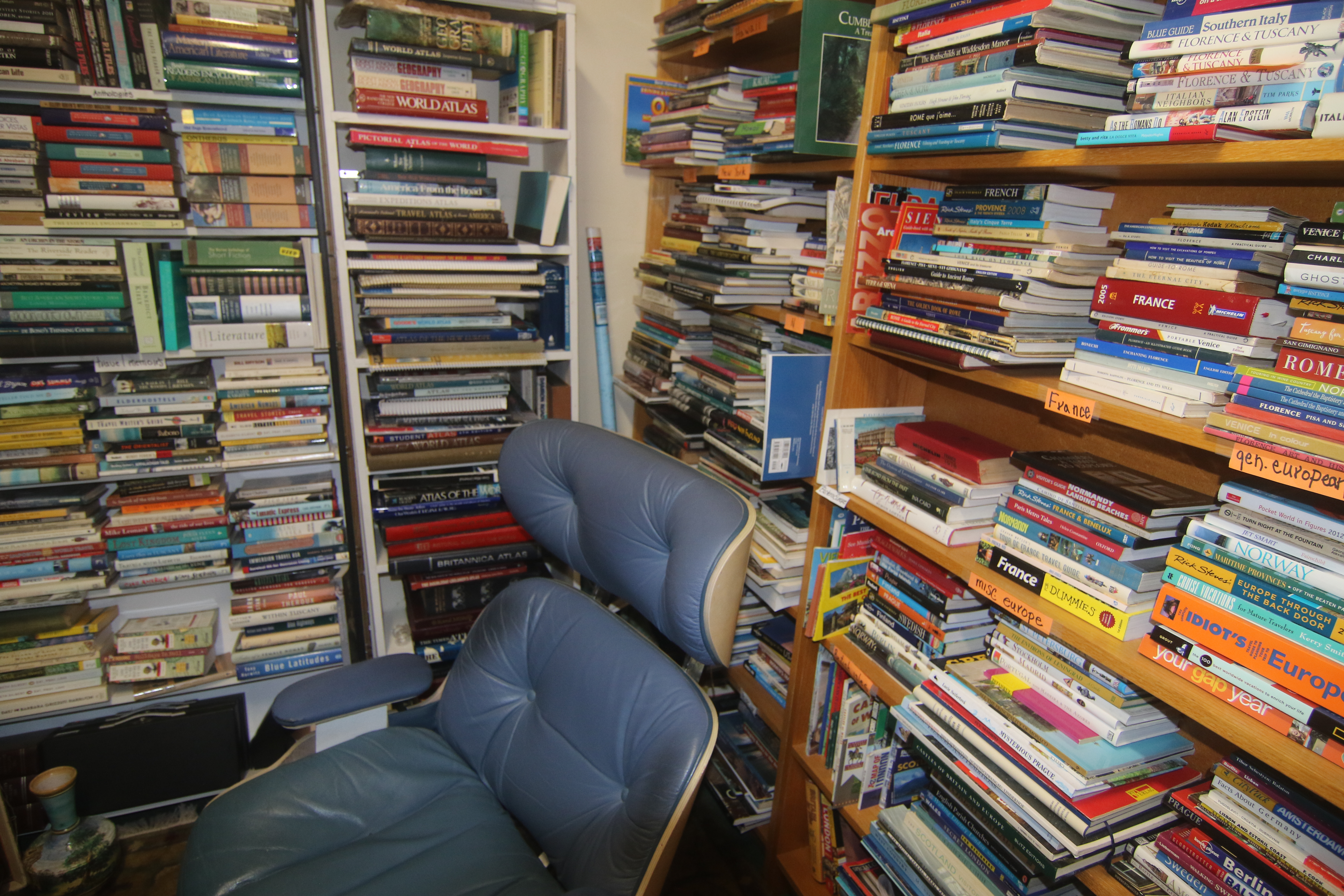 Brant's used bookstore sells old books for new looks