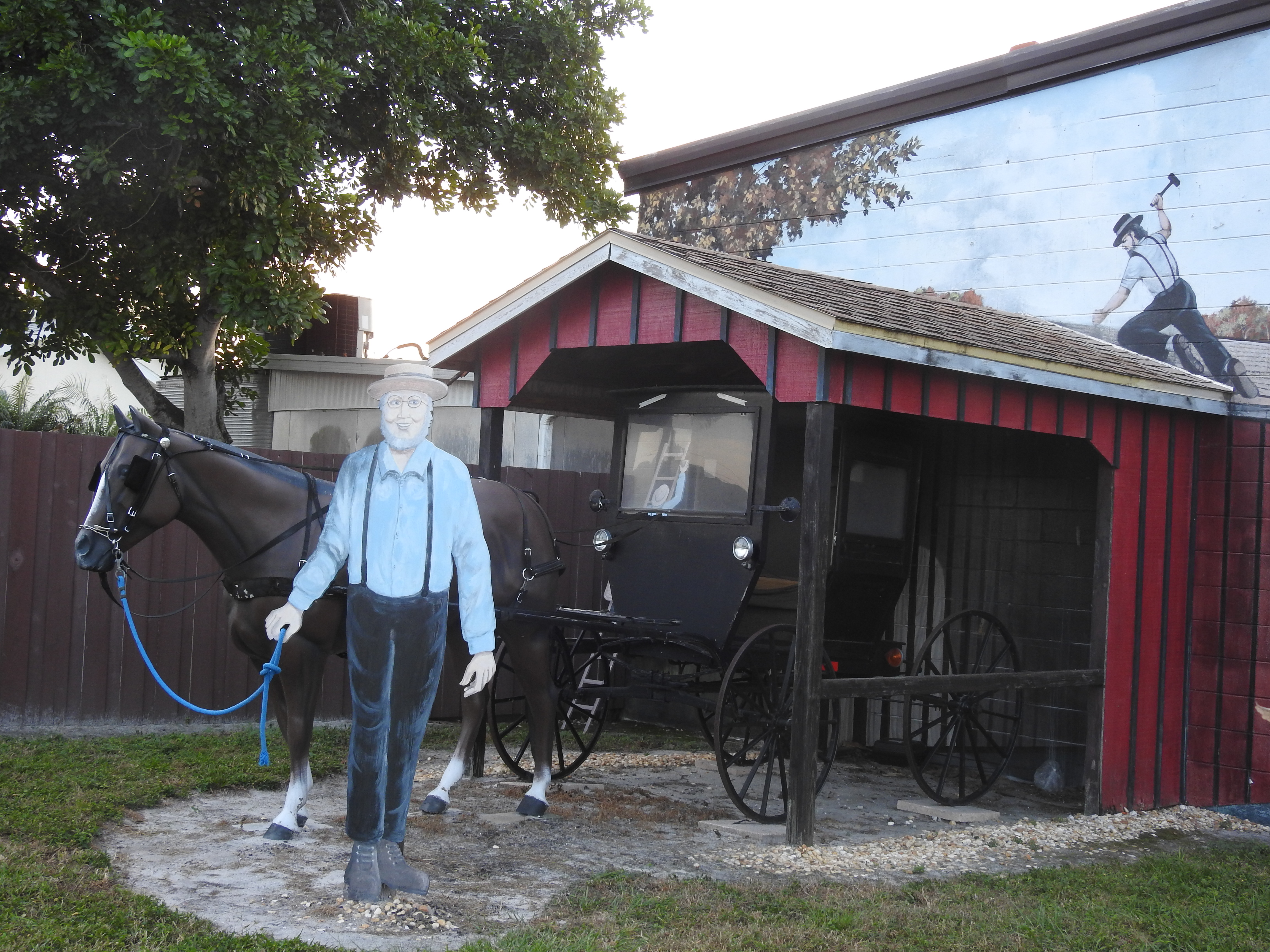 Yoder's restaurant provides the Amish food experience