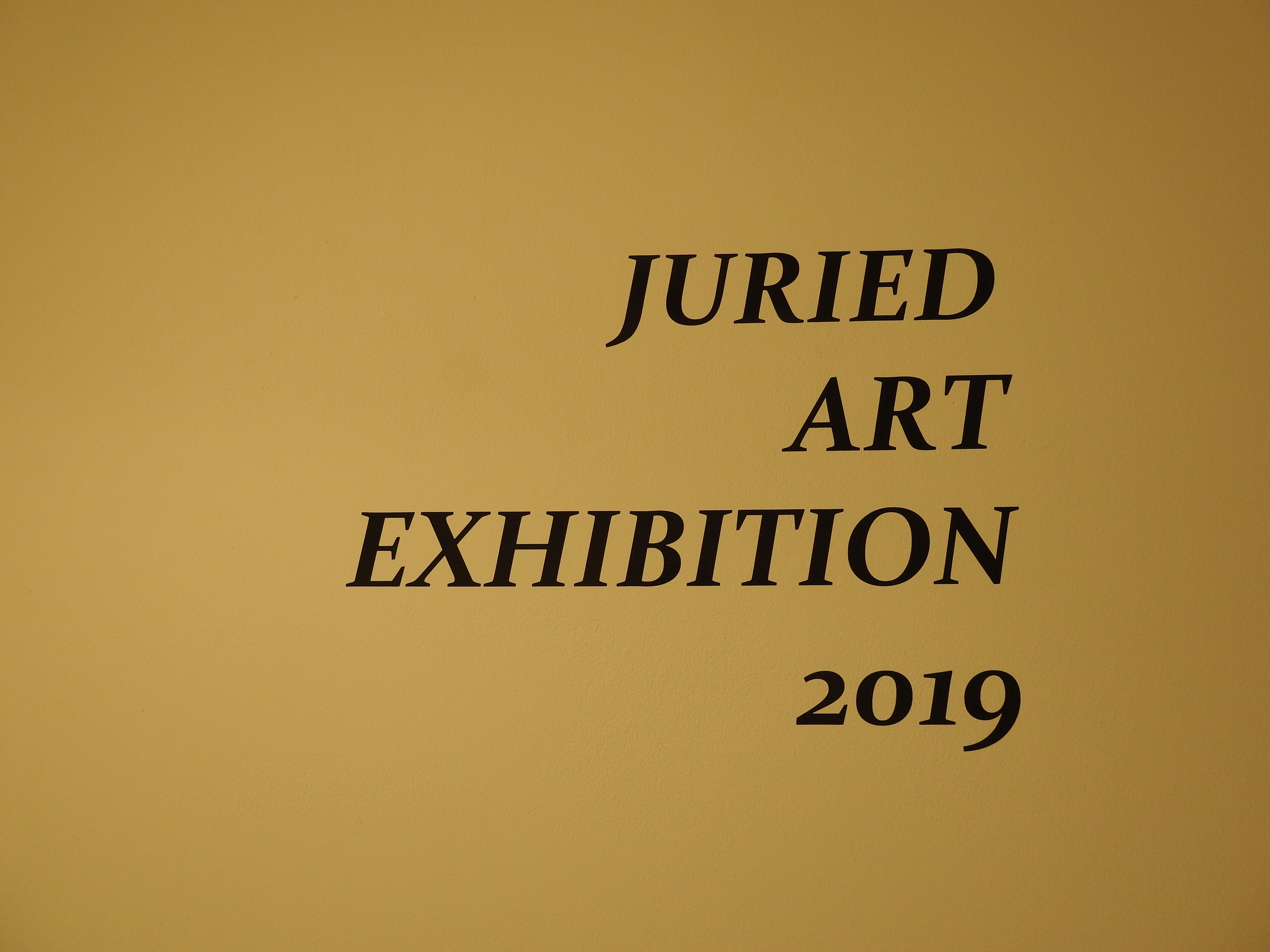 Student works showcased at annual Juried Art Exhibition