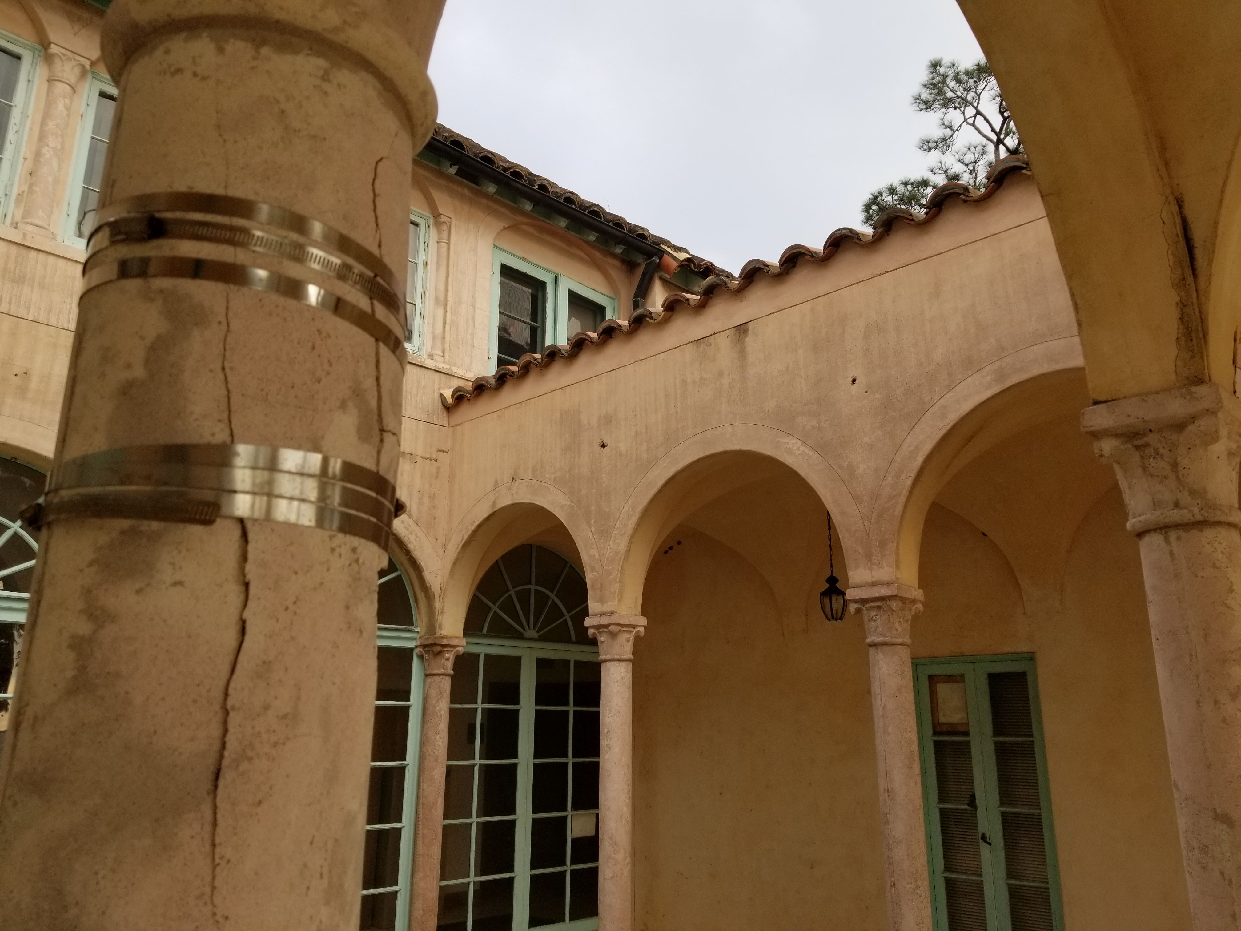 Mold leads to the closure of Caples Mansion