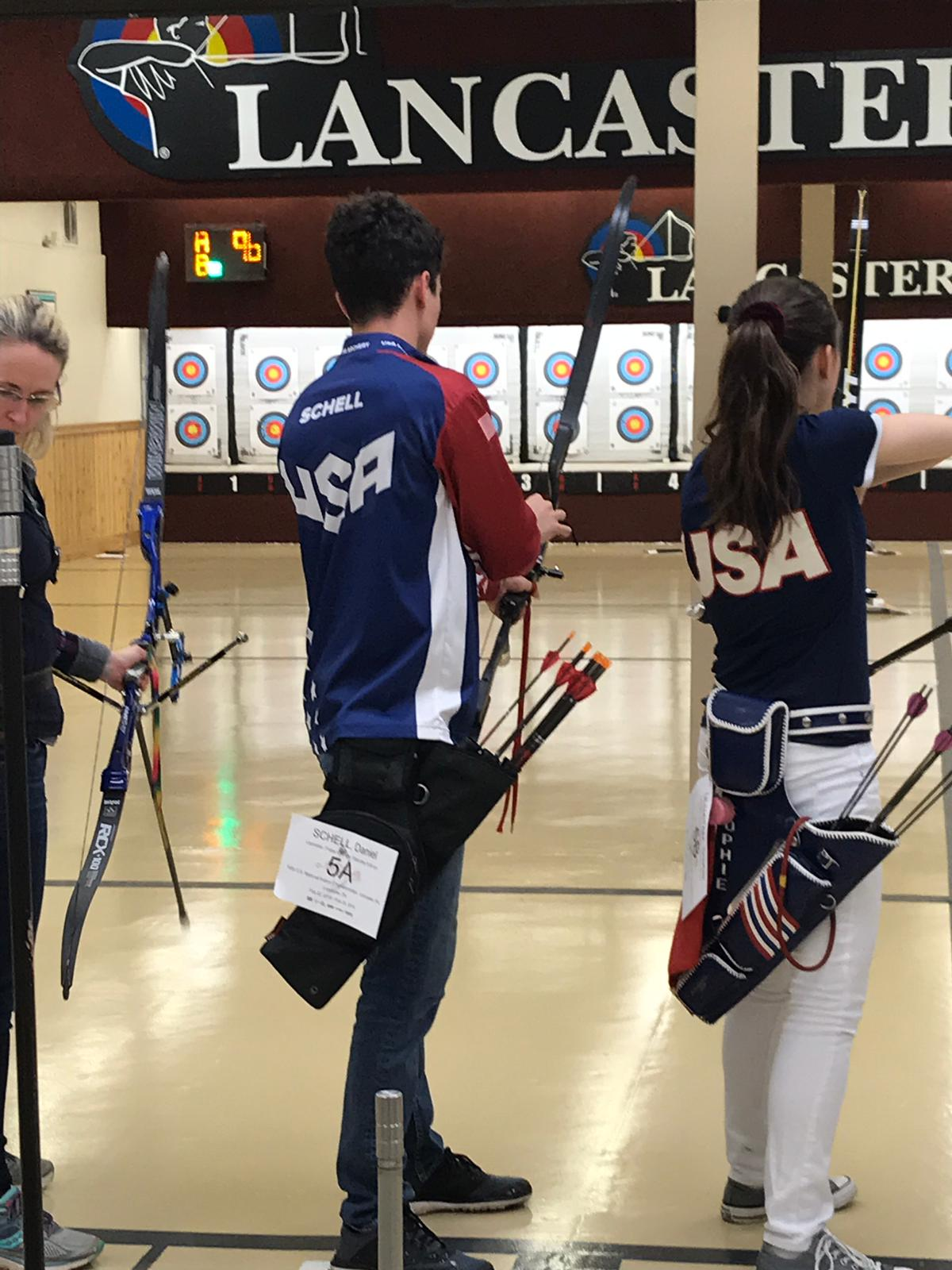 Student wins gold at national archery competition