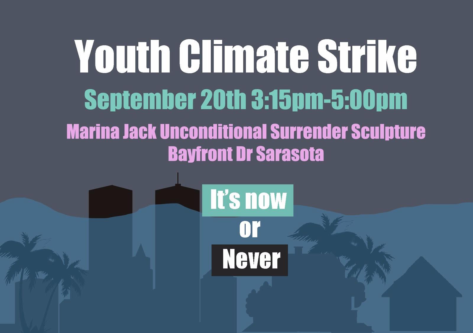 Local high schoolers organize Sarasota Climate Strike