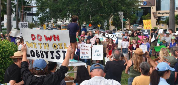 Global strike demands climate action