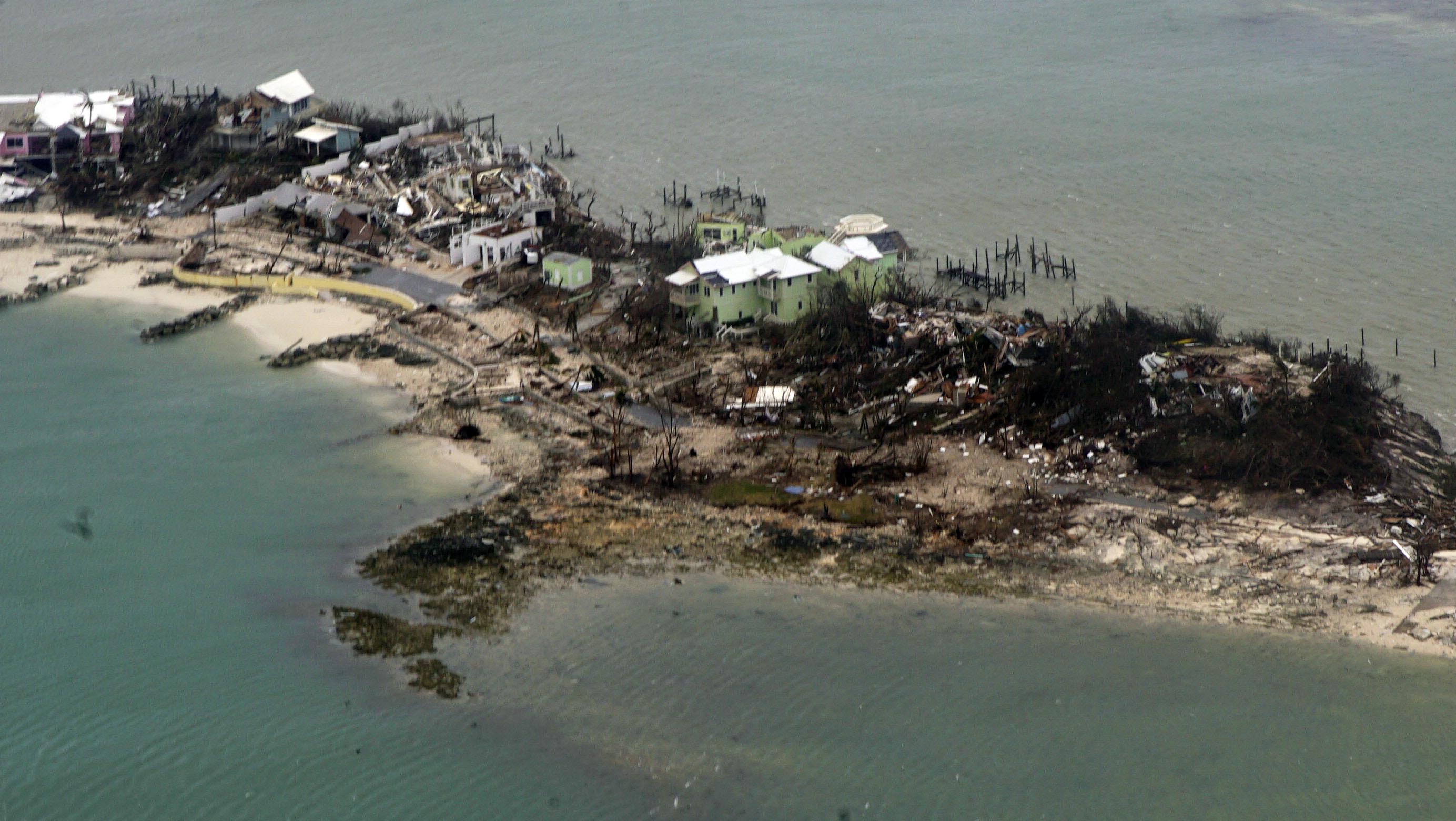 Bahamas devastated by Dorian