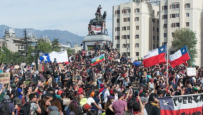 Unfair fares and economics inequality spur riots in Chile