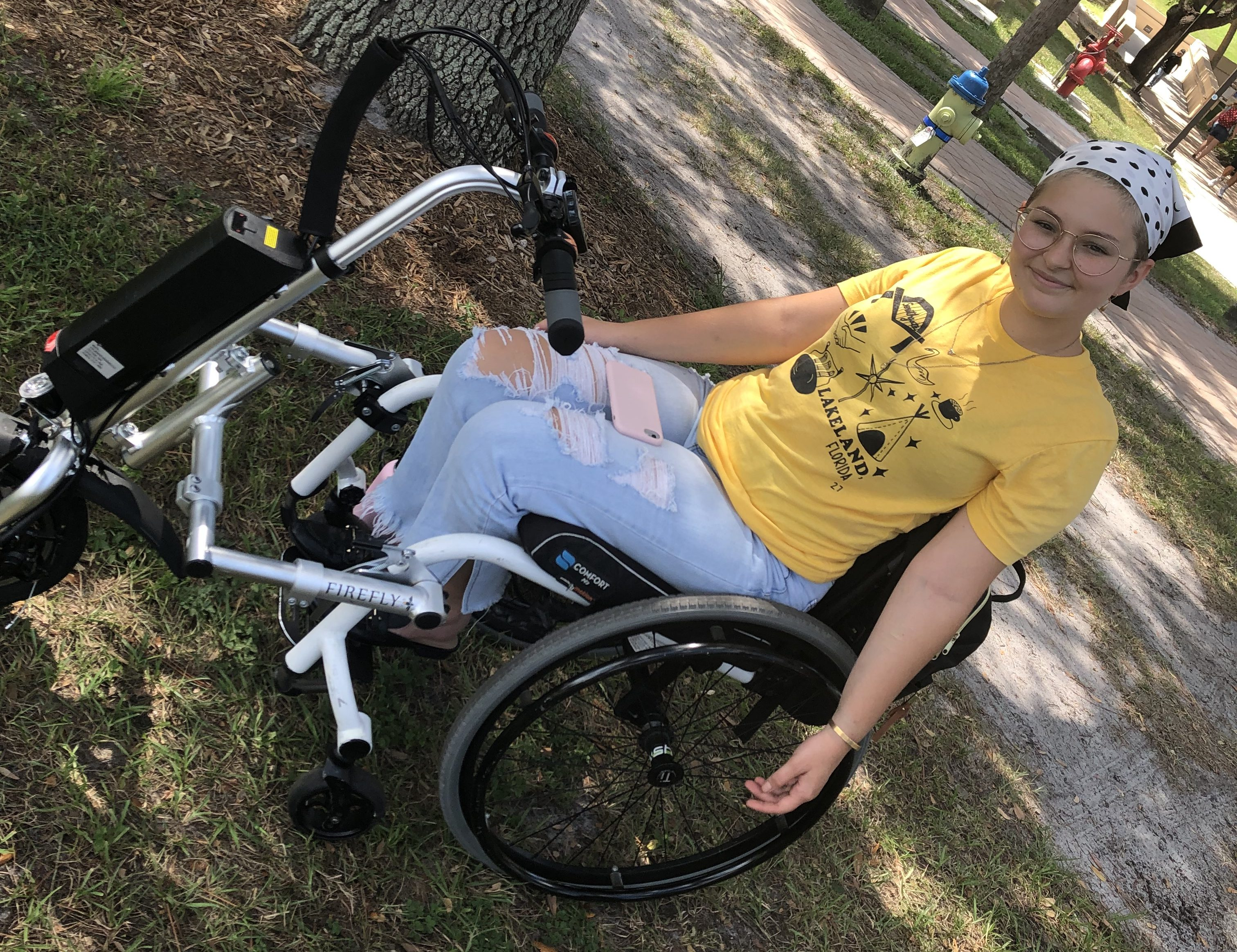 Addressing accessibility: navigating campus in a wheelchair