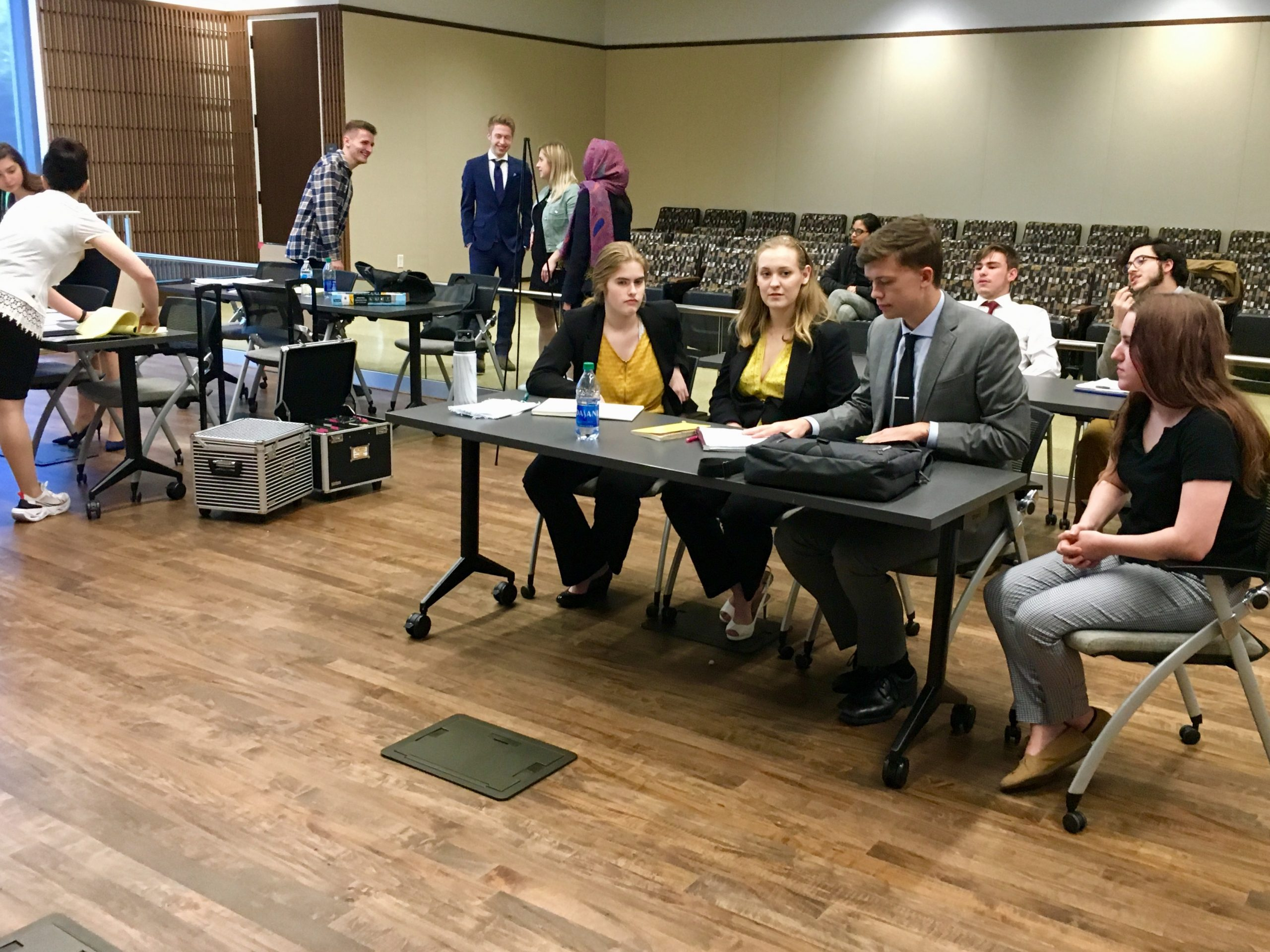 Mock trial team competes in first-ever tournament
