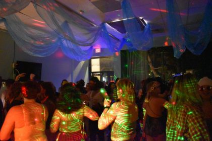 Dancing, dreaming and connecting at Dionysian Bacchanal Palm Court Party