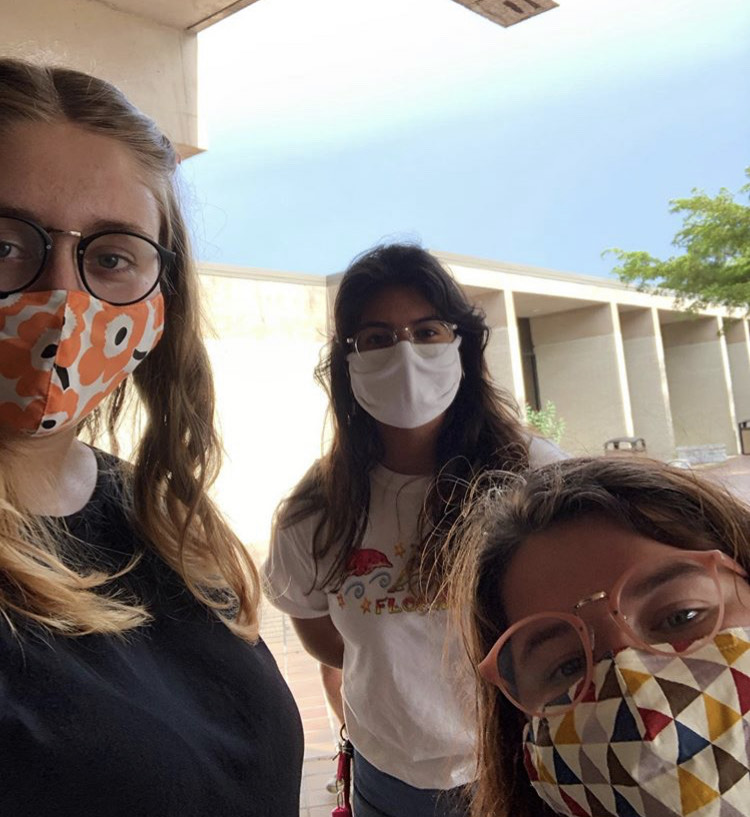 Fashionably Safe: New College Mask Fashion