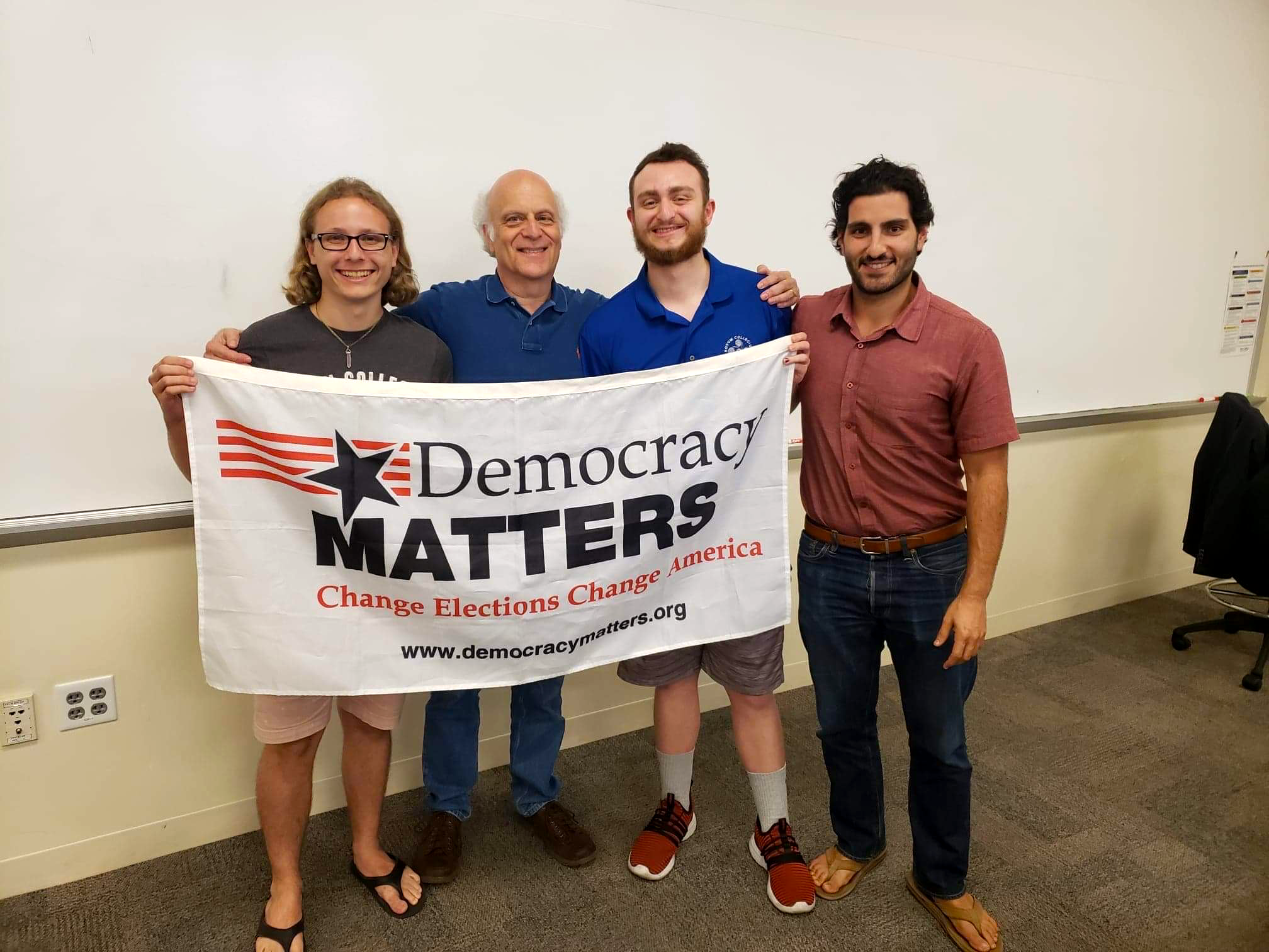 Democracy Matters talks elections, virtual events and money in politics
