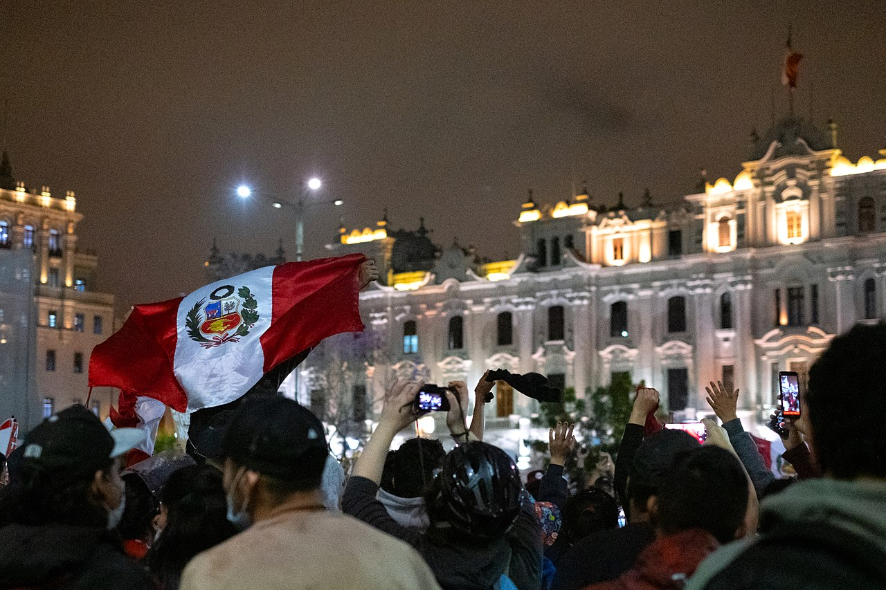 Young Peruvians demand change after congress impeaches president