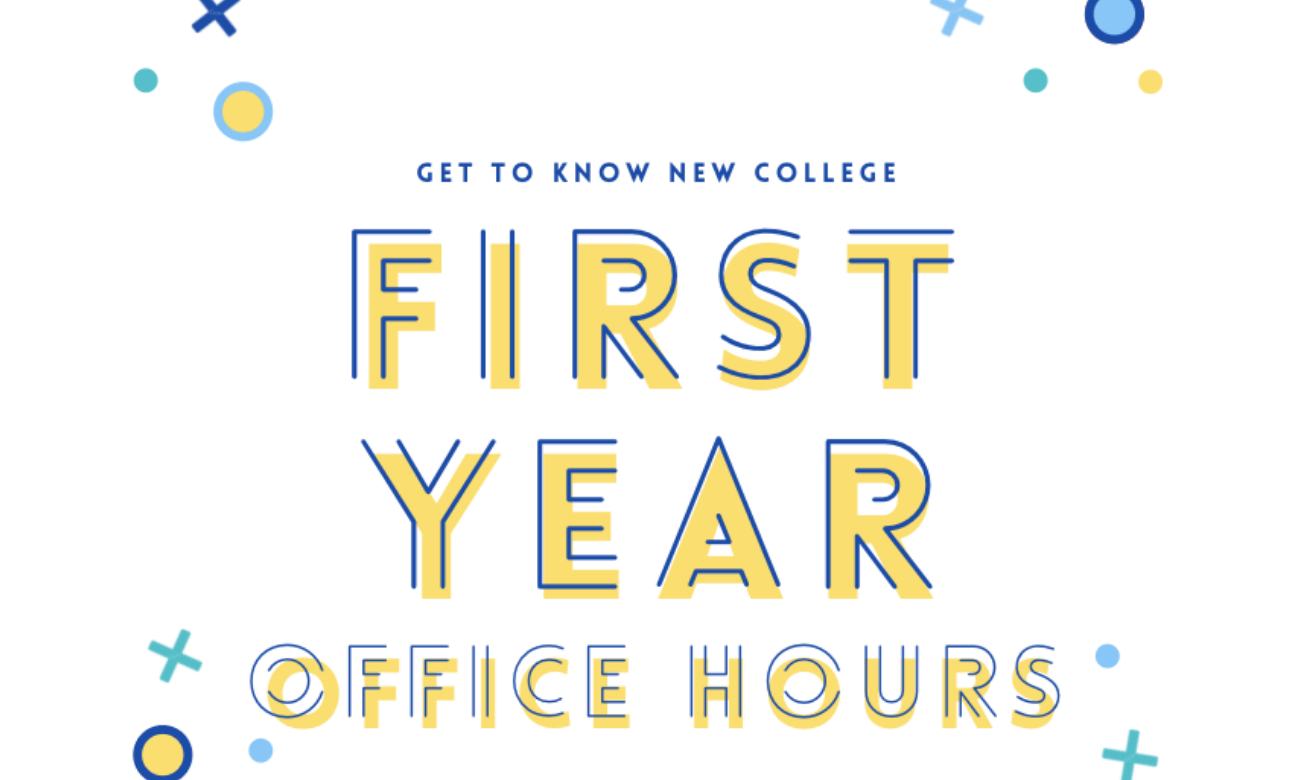 First-Year Office Hours with the NCSA