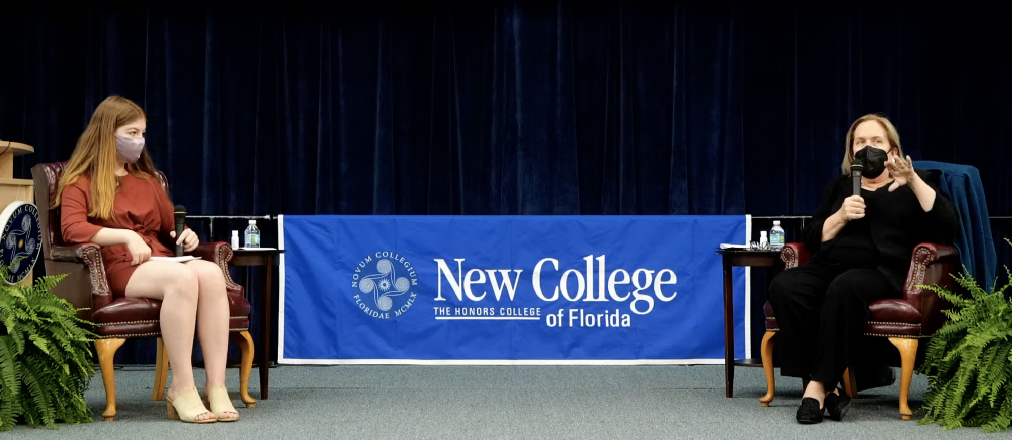 """""""Committed to quality of community"""" — Dr. Jane Fernandes' presidential candidate visit to New College"""