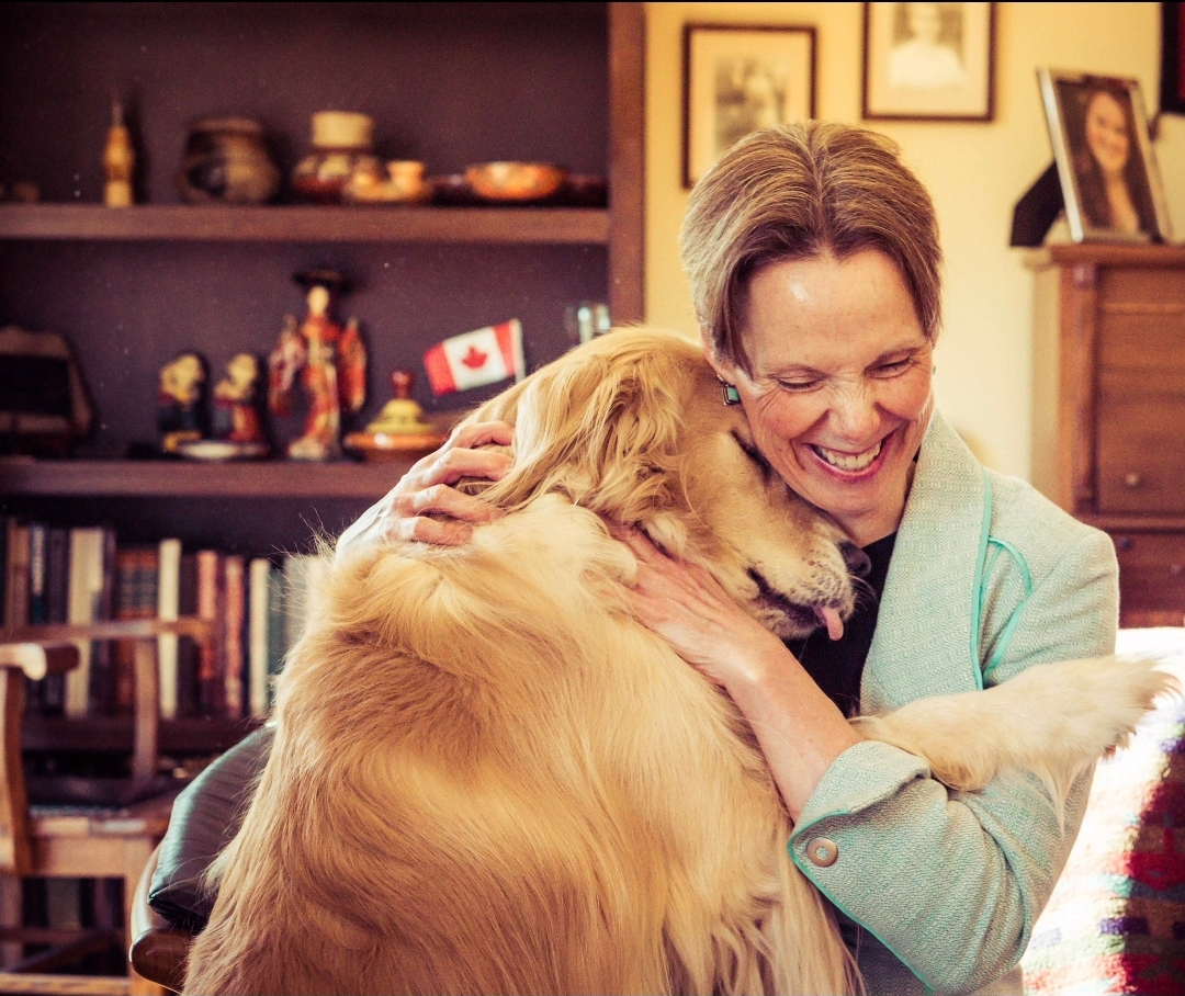 Golden retrievers and The Art of Impossible: Getting to know incoming president Dr. Patricia Okker
